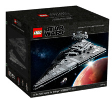 LEGO STAR WARS 75252 Imperial Star Destroyer UCS SIGNED +COA Authenticity+EXTRAS