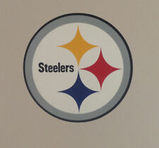 "Pittsburgh Steelers FATHEAD Primary Team Logo 11"" x 11"" NFL Wall Graphics Decal"