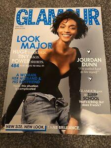 Glamour UK Magazine April 2017 Jourdan Dunn No 193