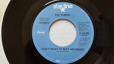 THE TUBES - Don't Want to Wait Anymore / Talk to Ya Later '81 NEW WAVE POP ROCK