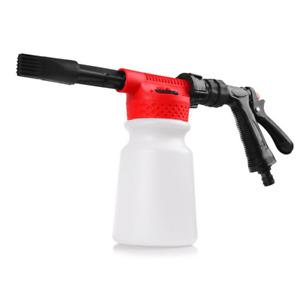 Car Snow Foam Washer Gun 900ML Wash Soap Lance Cannon Spray Pressure Jet Bottle