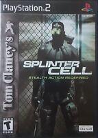 Tom Clancy's Splinter Cell - PlayStation 2