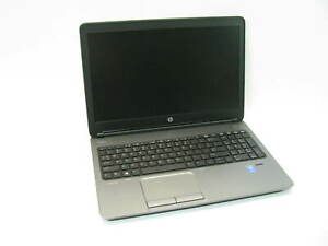 """HP ProBook 650 G1 15.6"""" Laptop 2.5GHz i5-4200M 4GB RAM (Grade B No Battery)"""