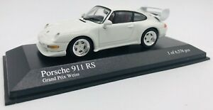 Minichamps 1/43 Porsche 911 RS 1995 White 430065105