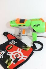 Dart Tag Nerf Gun With Red Vest -GREAT PLAY FUN!