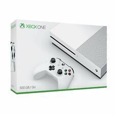 Xbox One S 500GB Weiß mit 2 Controllern + Original Karton