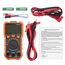 Trms Digital Multimeter Ac Dc Auto Range Voltage Current Meter Tester 6000counts