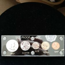 1962 U.S. Proof Set United States Coins. Collectors Uncirculated Coins.