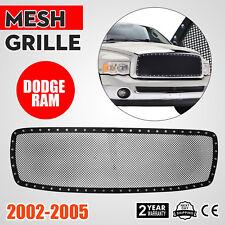 For Dodge Ram 1500 2500 3500 02-05 Black Texture Rivet Style Upper Grille Insert