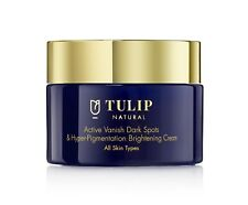 Tulip Natural Bleaching Cream face Whitening Dark spots Skin pigment  Kojic Acid