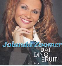 Jolanda Zoomer-Dat Ding Eruit cd single