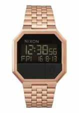 New Nixon Re-Run Digital Watch All Rose Gold