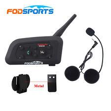 1200m 6 Riders pro Motorcycle Helmet Bluetooth BT Interphone Intercom headset V6