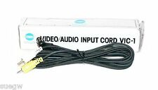 Minolta Video/Audio Input Cord VIC-1  (7829-810)