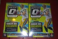 2016 PANINI Donruss Optic Football Hanger Box Lot ? Wentz Prescott  RCs Autos ?
