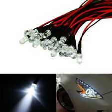 (20) Xenon White 12V LED Lights For Headlights DRL Angel Eyes Fog Retrofit DIY