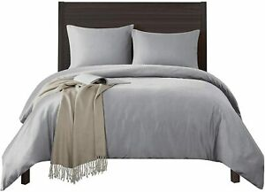 600-Thread-Count Best 100% Egyptian Cotton Sheets & Pillowcases Set - 4 Pc Ivory