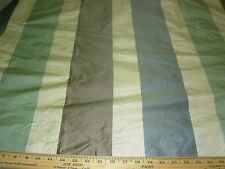 "~3 Yds~100%Silk Clarence House~""Rayure Bold Stripes""~Upholstery Fabric For Less~"