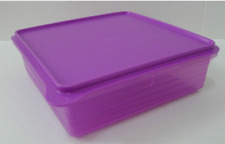 Tupperware B2B Snack & Stor Purple Square Container (2.9L) + Free Shipping