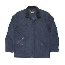 Vintage BARBOUR Blue Regular Quilted Jacket Mens M