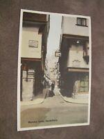 Early Kent postcard - Mercery Lane Canterbury