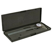 Dial Caliper 8 Inch / 200mm DUAL Reading Shockproof Scale METRIC SAE Standard