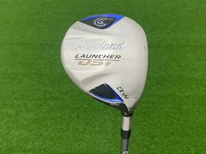 USED Cleveland Golf LAUNCHER DST (3) WOOD 15* Right RH Graphite Diamana SENIOR