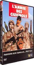 27135 //L'ANNEE DES GUIGNOLS 2002/2003 PARDON AU FAMILLES  TOUT CA DVD TBE