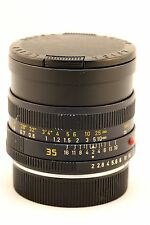 Leica Leitz R 35mm F2 35mm Summicron 35/2 35 1:2 3 Cam