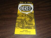 1966 EVERETT RAILROAD COMPANY PUBLIC TIMETABLE