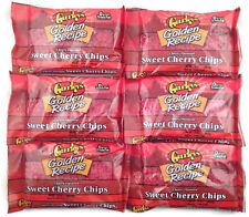 **6 BAGS** Gurley's Golden Recipe Cherry Flavored Sweet Cherry Baking Chips 10oz