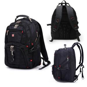 "Backpack Rucksack Gear Swiss Travel Bag 15"" Laptop Notebook NEW Outdoor School"