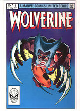 WOLVERINE Limited Mini Series #2 Chris Claremont Frank Miller 9.4