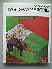 Boccaccio Das Decamerone Handschrift aus dem 15. Jahrhundert 1978