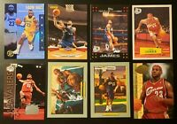 (8) LeBron James Lot of 8 - Topps, UD, Panini w Inserts and SP Variations 🔥🔥🔥