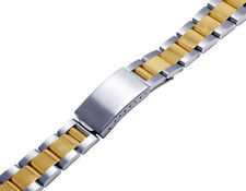 Mens Ladies 14K/ Steel Two Tone Oyster Watch Band for Rolex Datejust 36MM