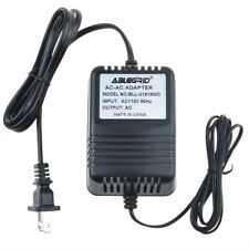 Ac to Ac Adapter for 1517-01 Dv-1215A-1 9Vac Class 2 Transformer Power Supply