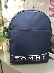 NEW Tommy Hilfiger Blue Backpack MSRP $108 NWT Tommy