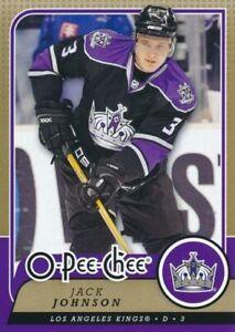 2008-09 O-Pee-Chee #359 JACK JOHNSON - Los Angeles Kings