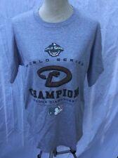Arizona Diamondbacks World Series Champions 2001 Shirt Medium Baseball MLB