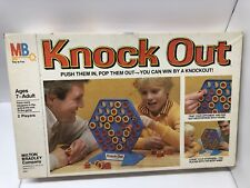 Vintage Knock Out Strategy Game 1976 Milton Bradley 100% Complete