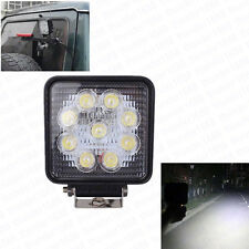 27W 9 LED Square Shape Flood Light Off-Road Driving Headlight Roof Lamp For Jeep