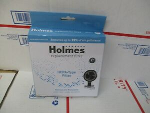 HOLMES HEPA TYPE FILTER REMOVES UP TO 99% OF AIR POLLUTANTS  NEW FAST SHIPPING