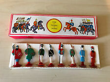 RARE USSR Russian Russia Plastic Unique Soldier LOT Colorful Original Box Toy