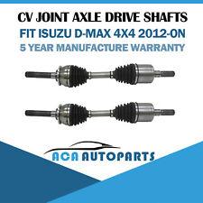 For Isuzu D-Max DMAX Front CV Joint Shaft 3.0L 4JJ1-TC Diesel 4x4 2012-ON L & R
