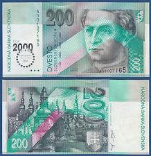 SLOWAKEI / SLOVAKIA 200 Korun 2000 UNC  P.37