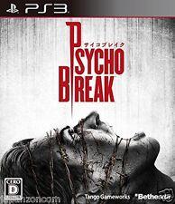 Used PS3  Psycho Break SONY PLAYSTATION 3 JAPAN JAPANESE IMPORT