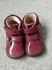 Burgundy Toddler Leather Shoes/Boots 4.5F StartRite