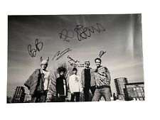 Neck Deep Signed Sketch Poster 11x17 Autographed All Distortions Are Intentional