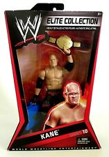 WWE  / WWF Elite Collection KANE Series 10 Wrestling Action Figure by Mattel